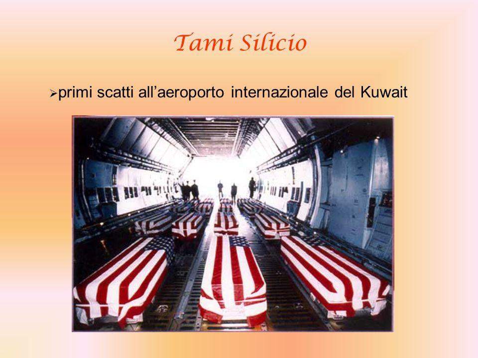 Tami Silicio primi scatti allaeroporto internazionale del Kuwait