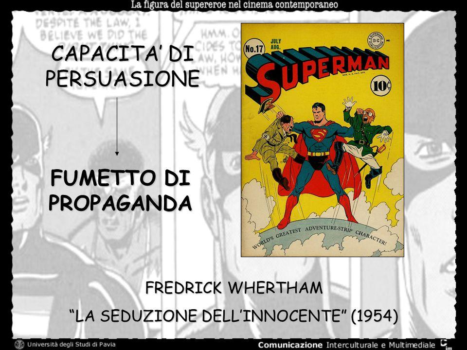 CAPACITA DI PERSUASIONE FUMETTO DI PROPAGANDA FREDRICK WHERTHAM LA SEDUZIONE DELLINNOCENTE (1954)