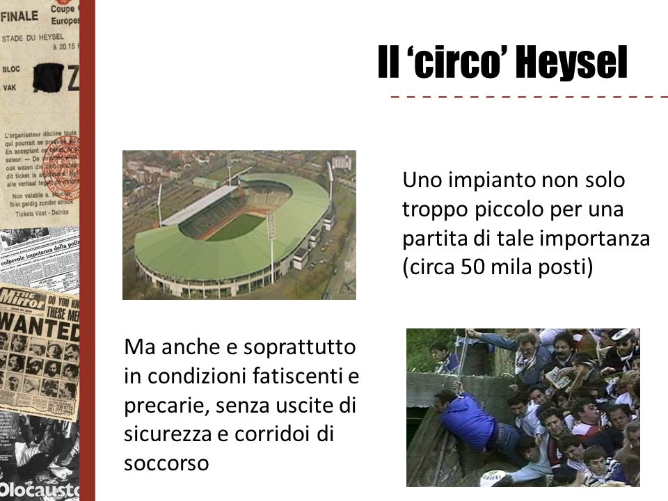 Verso l Arena… Il Presidente Agnelli annuncia che nel nuovo stadio della Juventus ci sarà un luogo e un monumento per ricordare le vittime di quella tragica notte, per non dimenticare