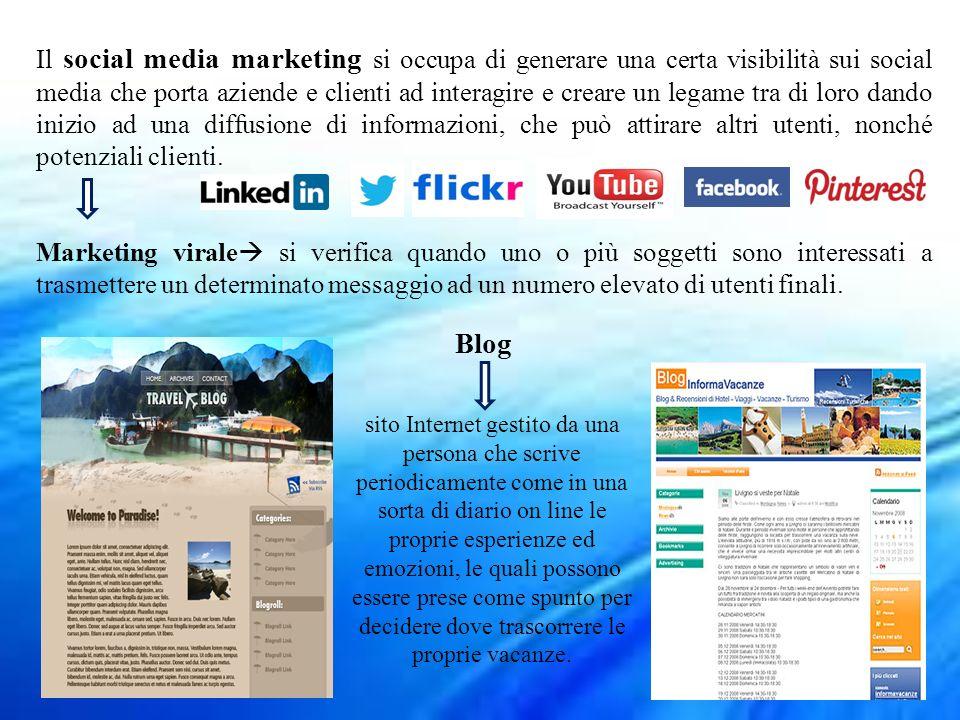Il social media marketing si occupa di generare una certa visibilità sui social media che porta aziende e clienti ad interagire e creare un legame tra