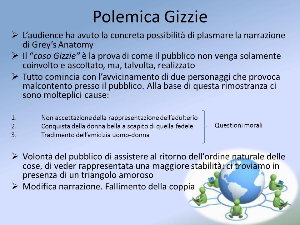 Polemica Gizzie Laudience ha avuto la concreta possibilità di plasmare la narrazione di Greys Anatomy Il caso Gizzie è la prova di come il pubblico no