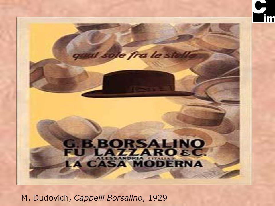 M. Dudovich, Cappelli Borsalino, 1929