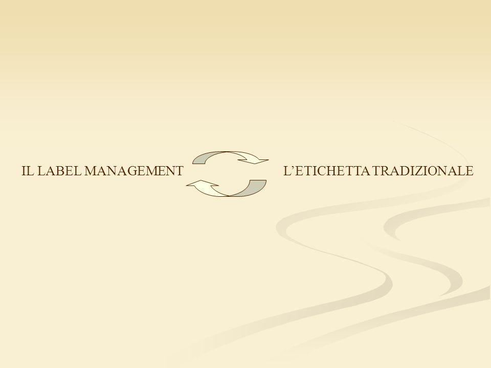 IL LABEL MANAGEMENTLETICHETTA TRADIZIONALE