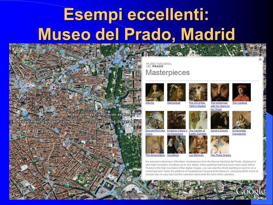 Esempi eccellenti: Museo del Prado, Madrid