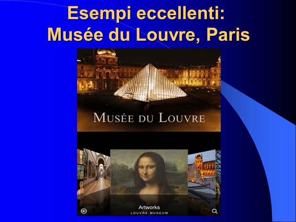 Esempi eccellenti: Musée du Louvre, Paris
