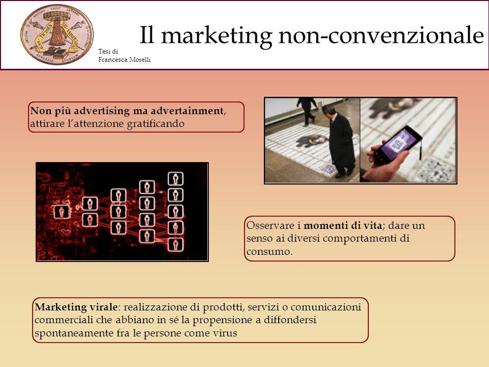 Presentare unalternativa al marketing tradizionale Sottolineando la necessità di cambiare gli strumenti, le teorie e le tecniche finora utilizzate in quanto inadeguate al nuovo pubblico.