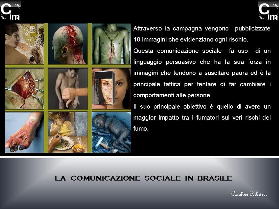 Attraverso la campagna vengono pubblicizzate 10 immagini che evidenziano ogni rischio. Questa comunicazione sociale fa uso di un linguaggio persuasivo