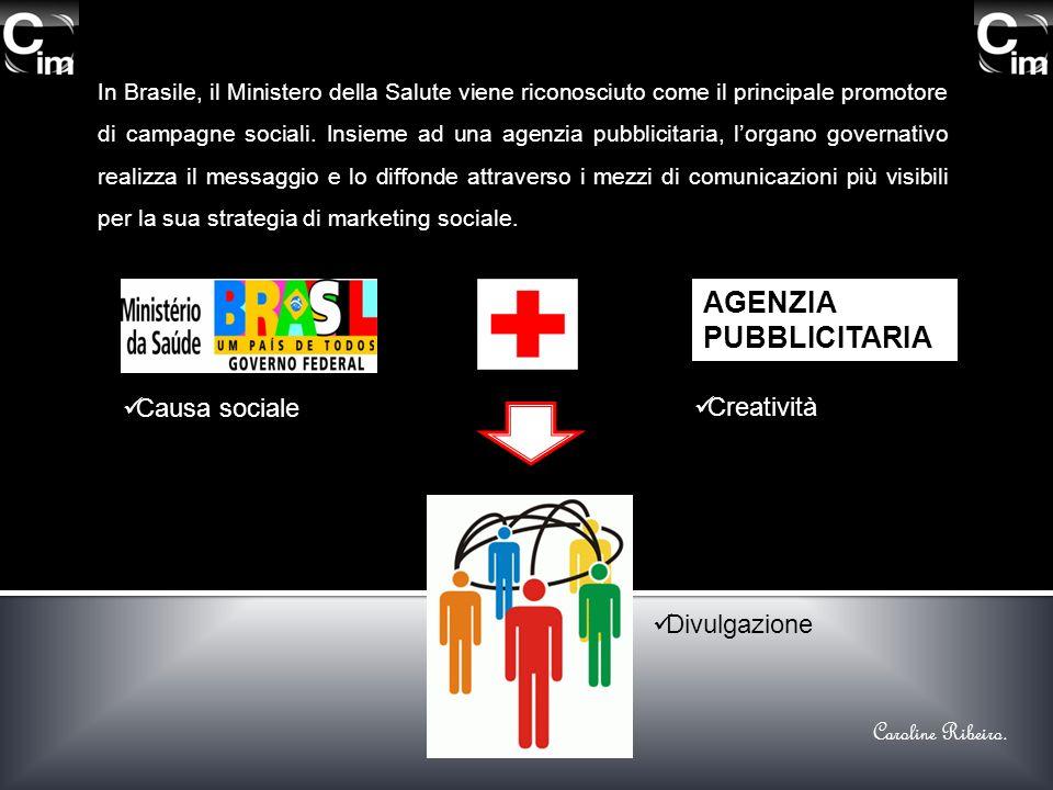 In Brasile, il Ministero della Salute viene riconosciuto come il principale promotore di campagne sociali. Insieme ad una agenzia pubblicitaria, lorga