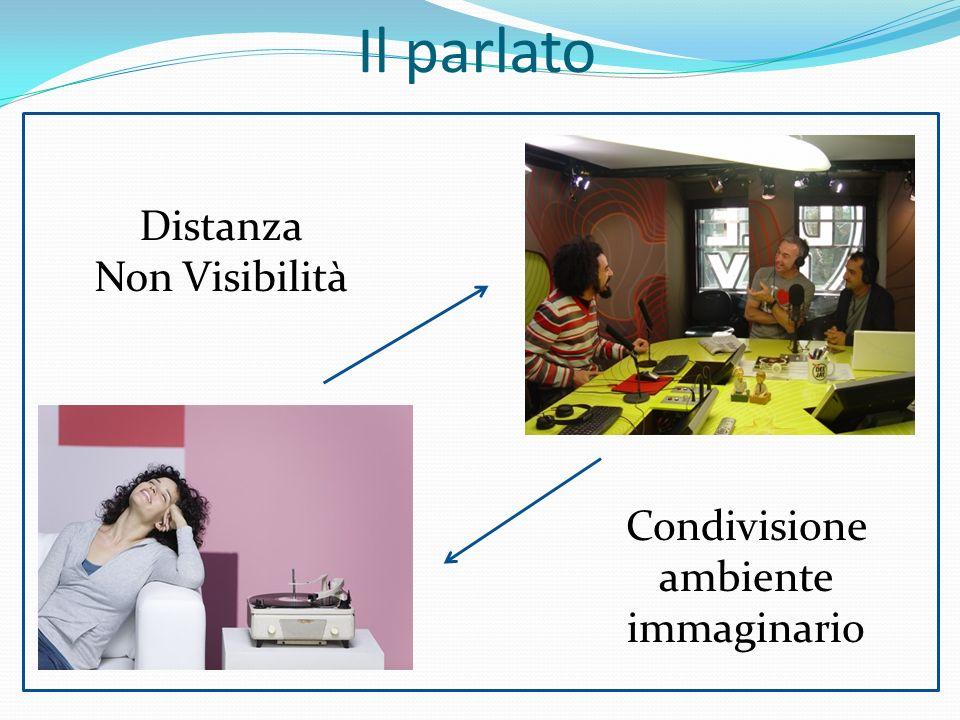 Condivisione ambiente immaginario Il parlato Distanza Non Visibilità