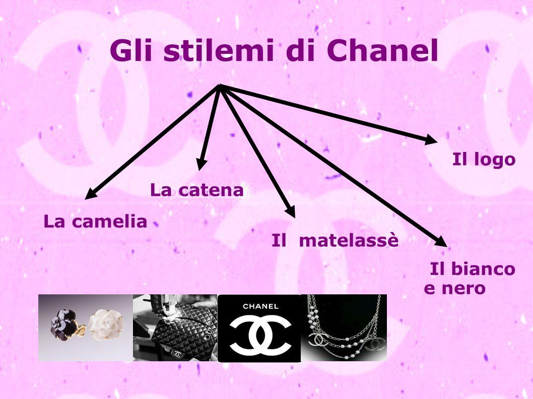 Gli stilemi di Chanel La camelia La catena Il matelassè Il bianco e nero Il logo