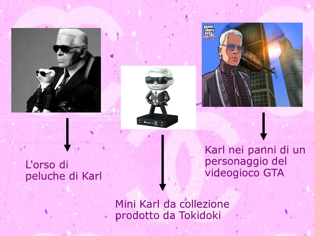 L'orso di peluche di Karl Mini Karl da collezione prodotto da Tokidoki Karl nei panni di un personaggio del videogioco GTA
