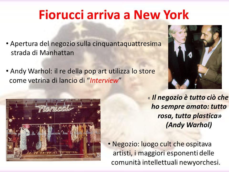 Fiorucci arriva a New York Apertura del negozio sulla cinquantaquattresima strada di Manhattan Andy Warhol: il re della pop art utilizza lo store come
