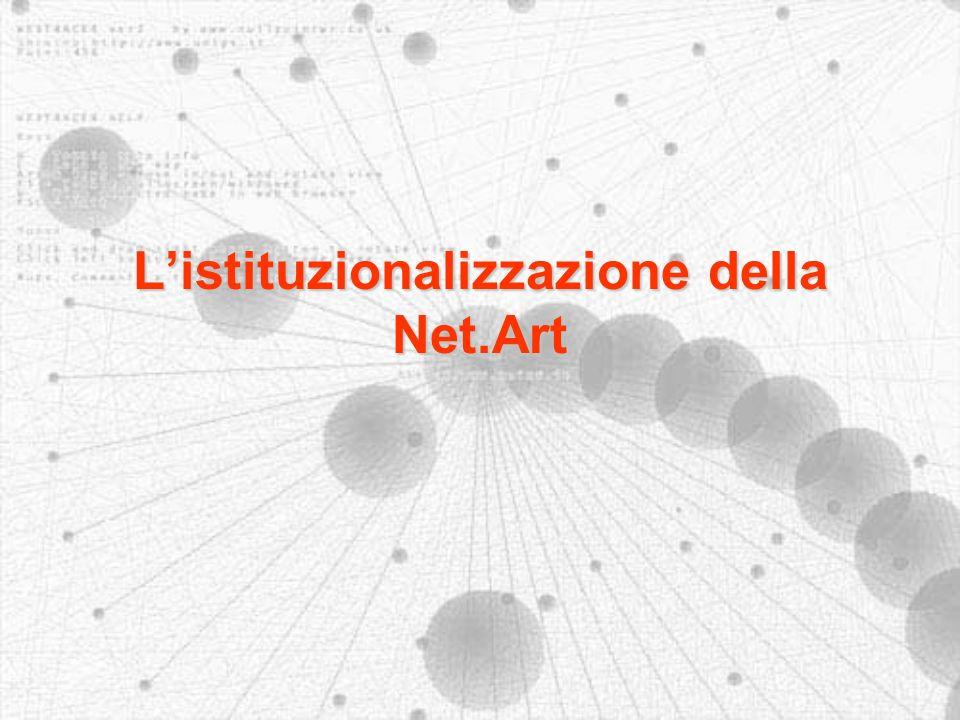 Listituzionalizzazione della Net.Art