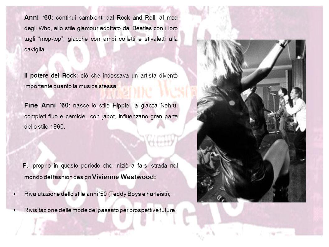 Nata nel 1941 a Tintwistle Malcolm McLaren Let it Rock Bio Nata nel 1941 a Tintwistle, piccolo villaggio del Derbyshire in Inghilterra, Vivienne dimostrò subito di avere velleità artistiche in gioventù, fabbricando da sola i suoi orecchini e accessori.