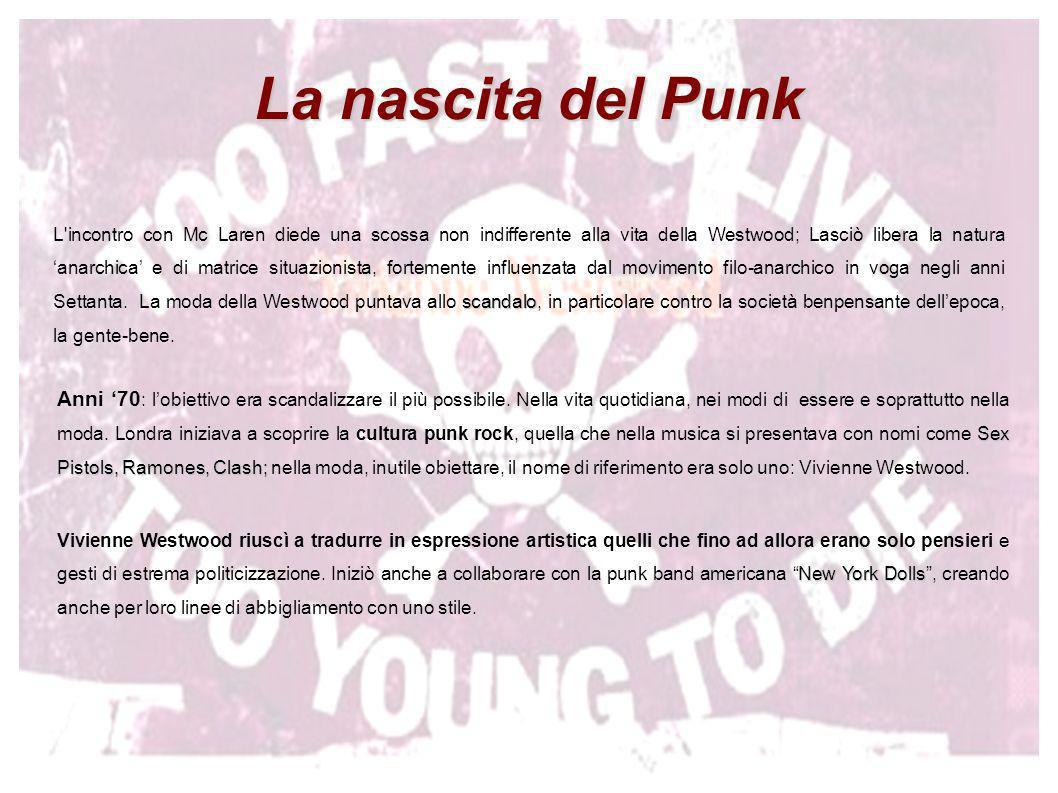 DA SUBCULTURA A MAINSTREAM DA SUBCULTURA A MAINSTREAM decostruzione La moda Punk è una decostruzione , una cultura del rifiuto e dei rifiuti.