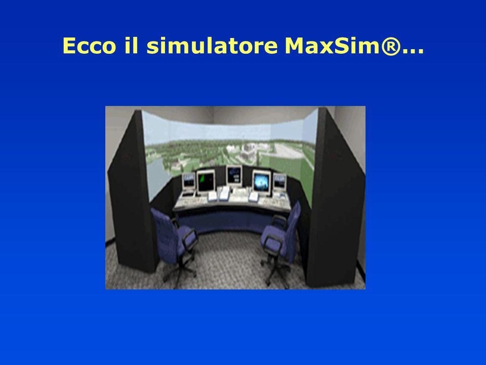 Ecco il simulatore MaxSim®...