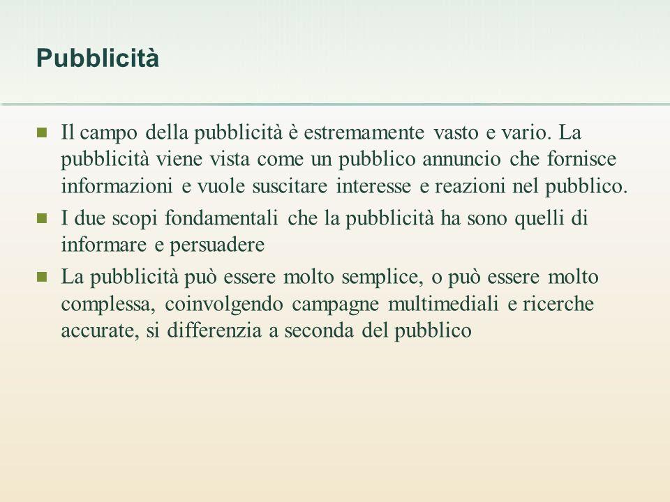 Pubblicità: danni per leconomia Il danno più evidente è il consumismo, una delle malattie della società e delluomo.