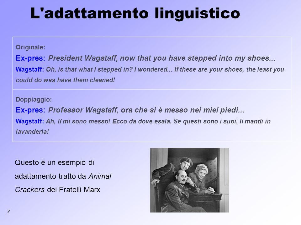 8 L adattamento tra accenti e dialetti