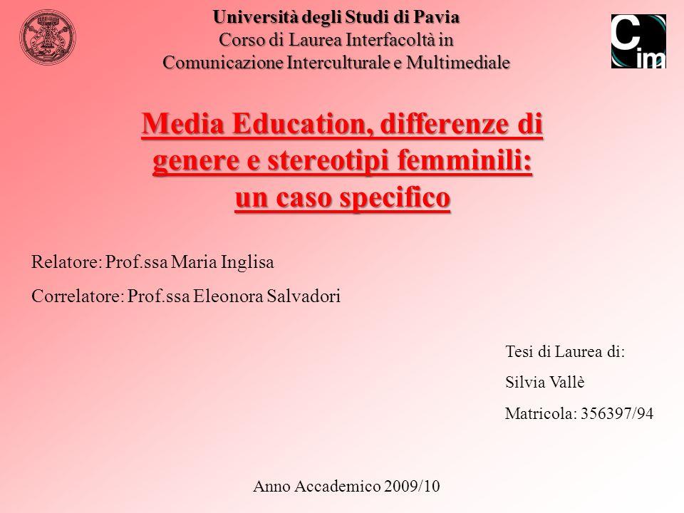2 Tesi di Laurea Triennale - Silvia Vallè - A.A.