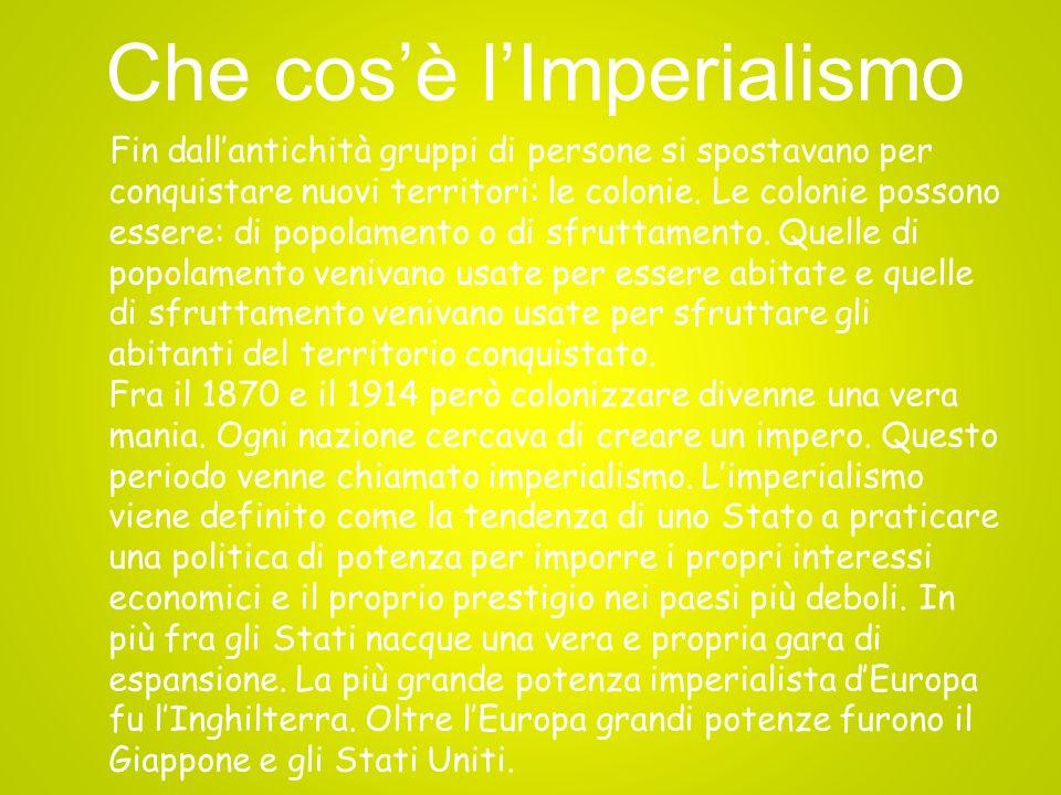 Le cause dellImperialismo Le principali cause della nascita dellimperialismo sono tre: economiche, politiche e culturali.