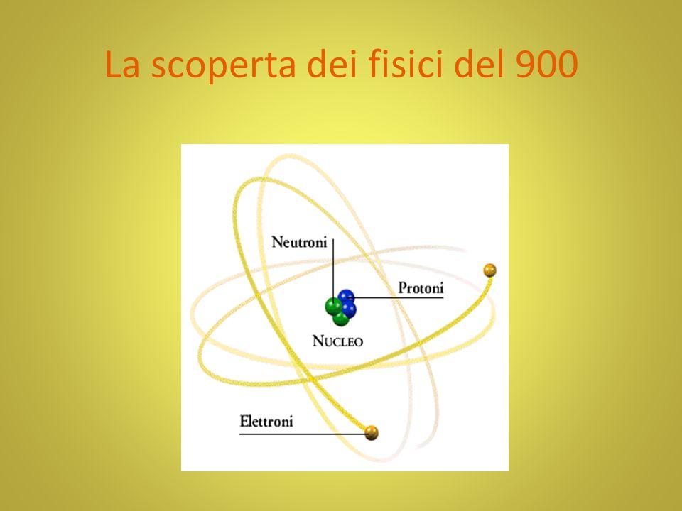 La scoperta dei fisici del 900