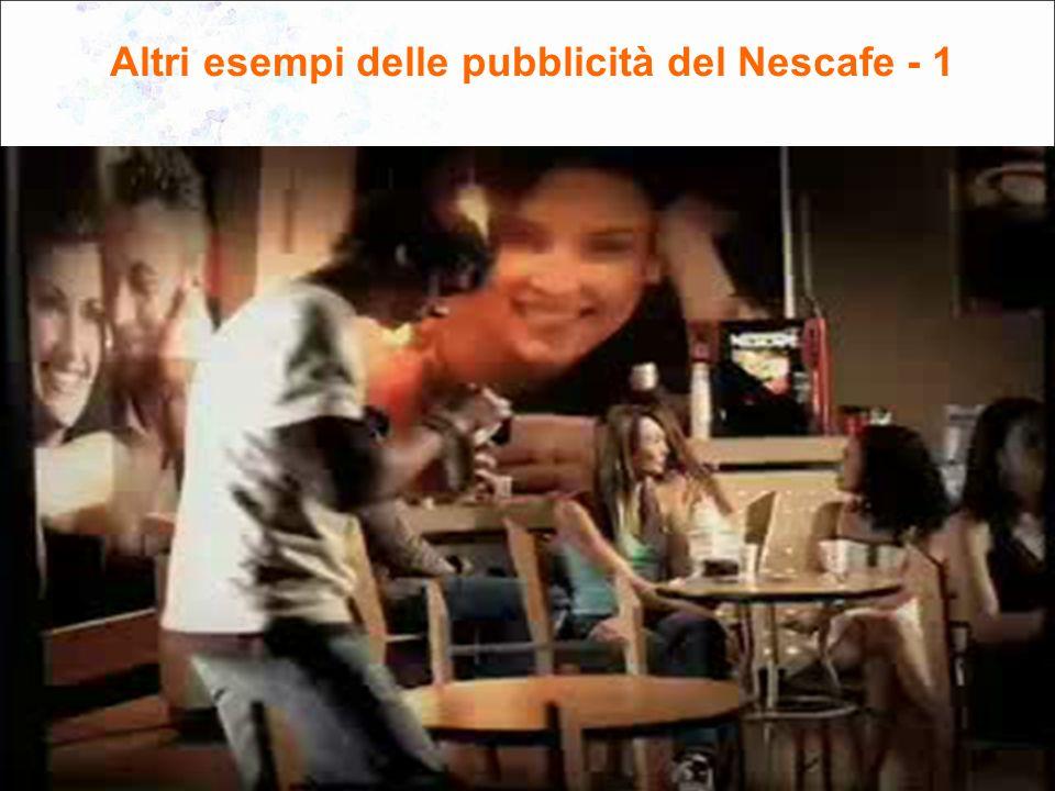 5 Altri esempi delle pubblicità del Nescafe - 1