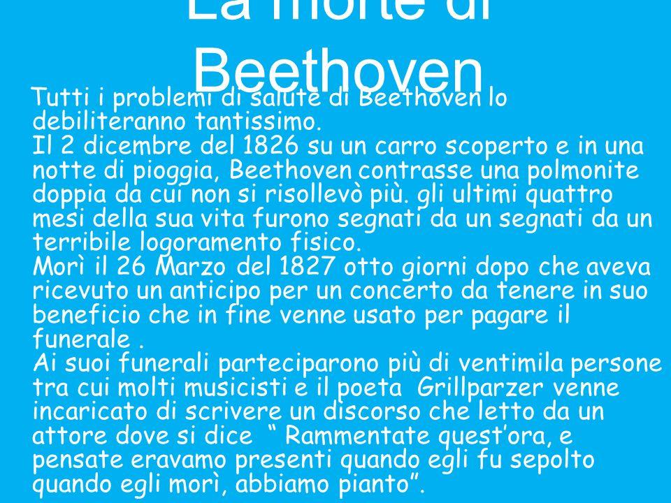 La Nona Sinfonia: lInno alla Gioia La composizione più importante, secondo me, di Beethoven è lInno alla Gioia che è diventato anche linno di Europa.