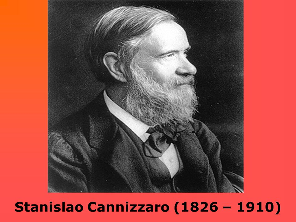 Stanislao Cannizzaro (1826 – 1910)
