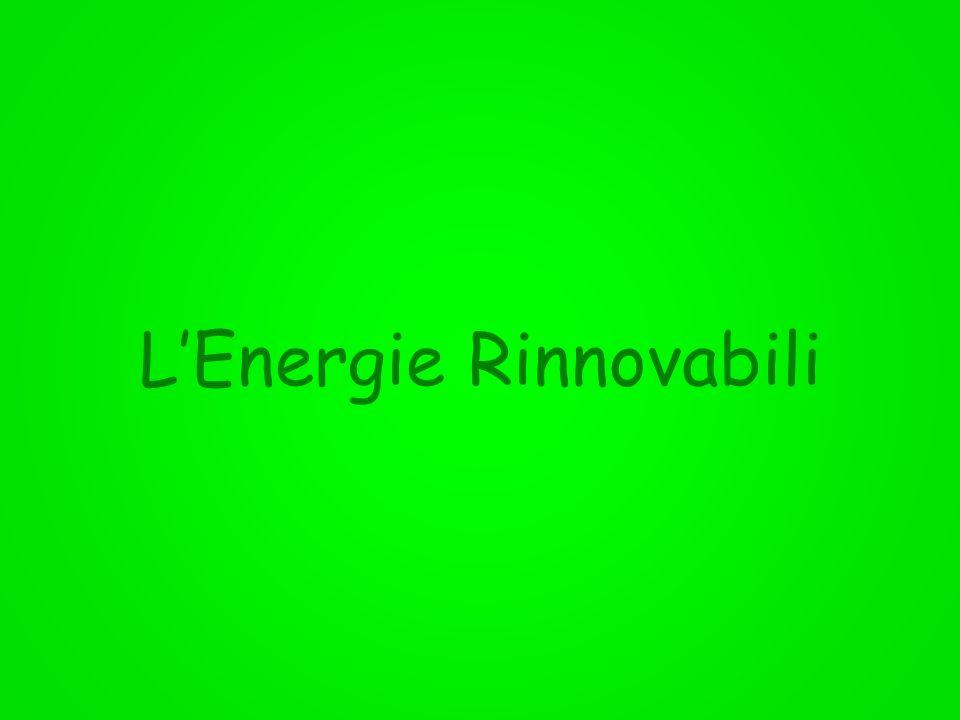 LEnergie Rinnovabili