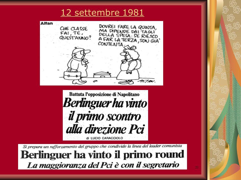 20 12 settembre 1981