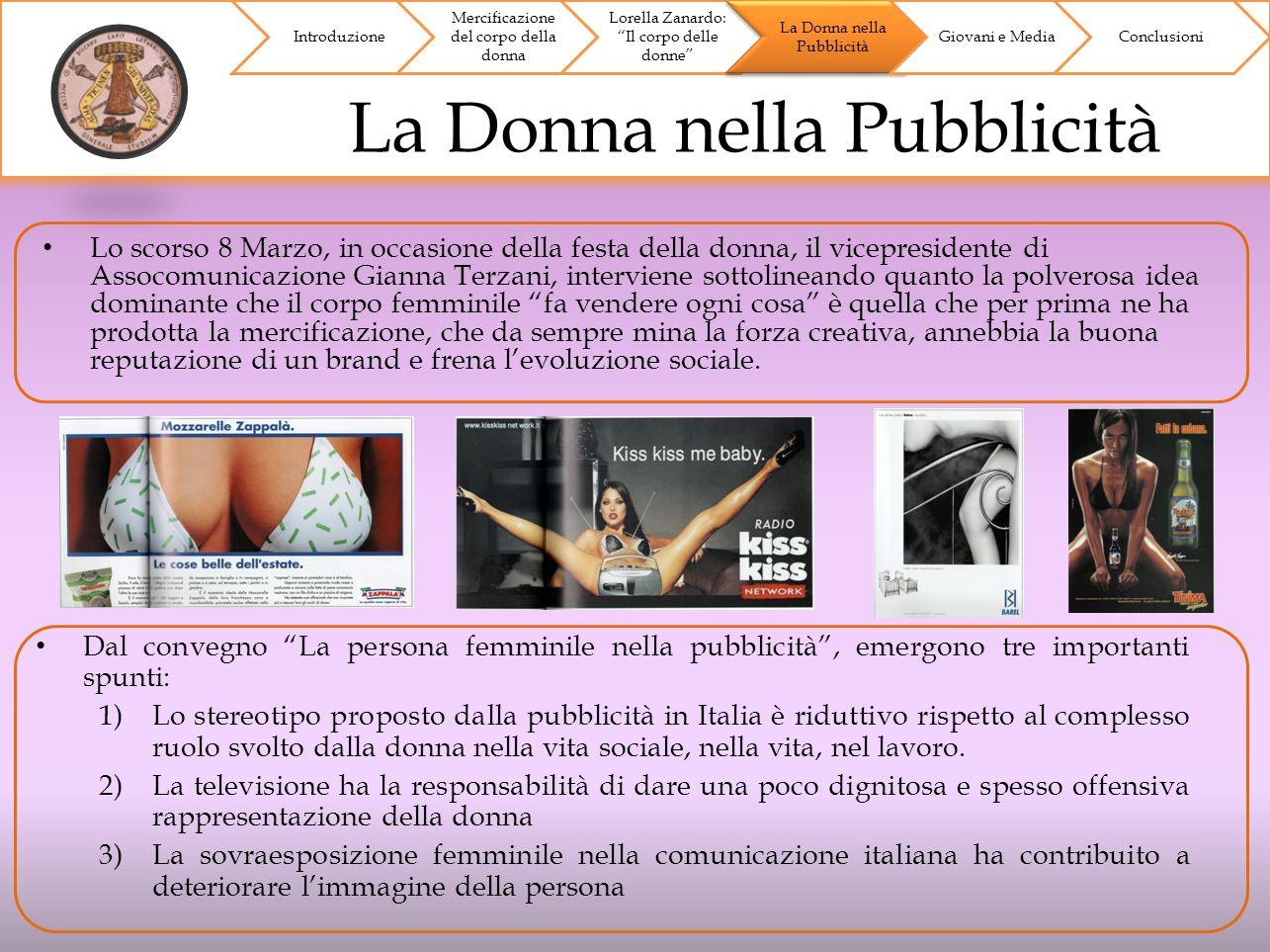 Lo scorso 8 Marzo, in occasione della festa della donna, il vicepresidente di Assocomunicazione Gianna Terzani, interviene sottolineando quanto la pol