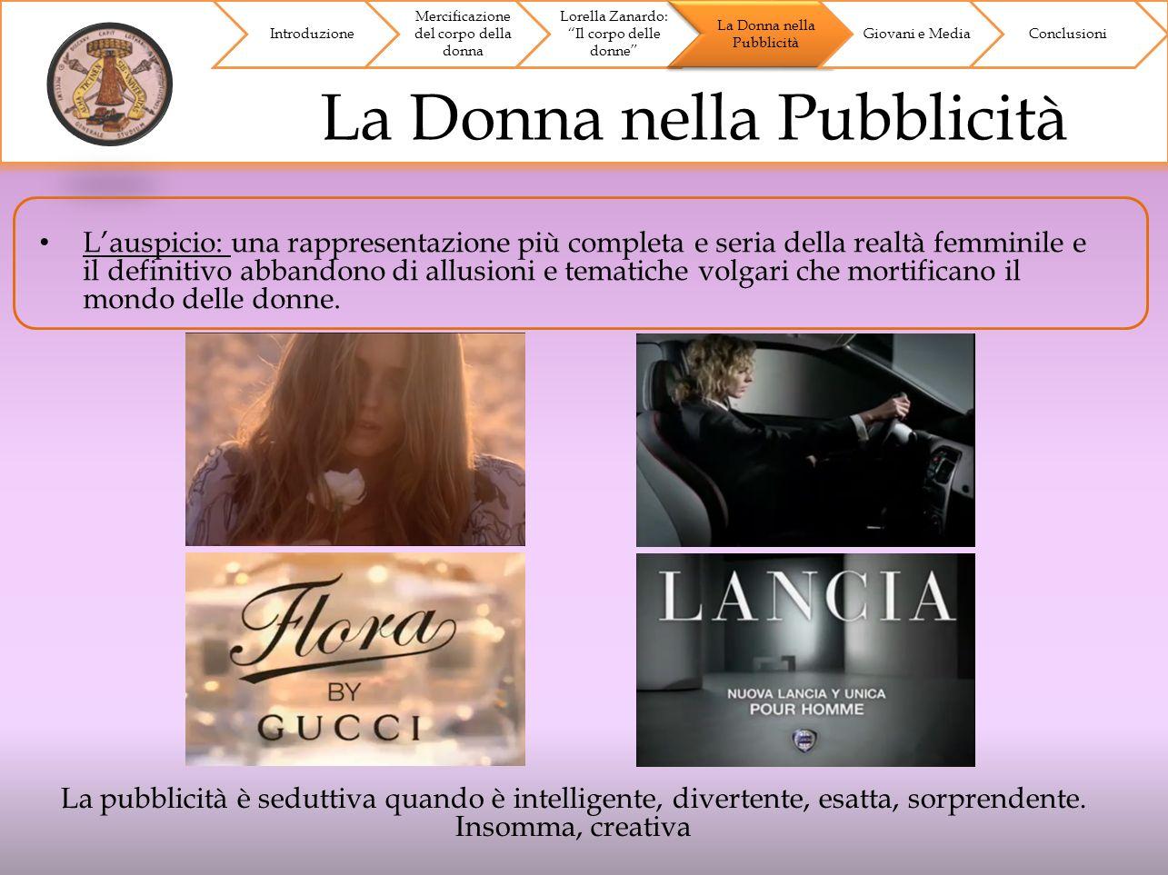 Caso di Studio: Silvian Heach Introduzione Mercificazione del corpo della donna Lorella Zanardo: Il corpo delle donne La Donna nella Pubblicità Giovani e MediaConclusioni