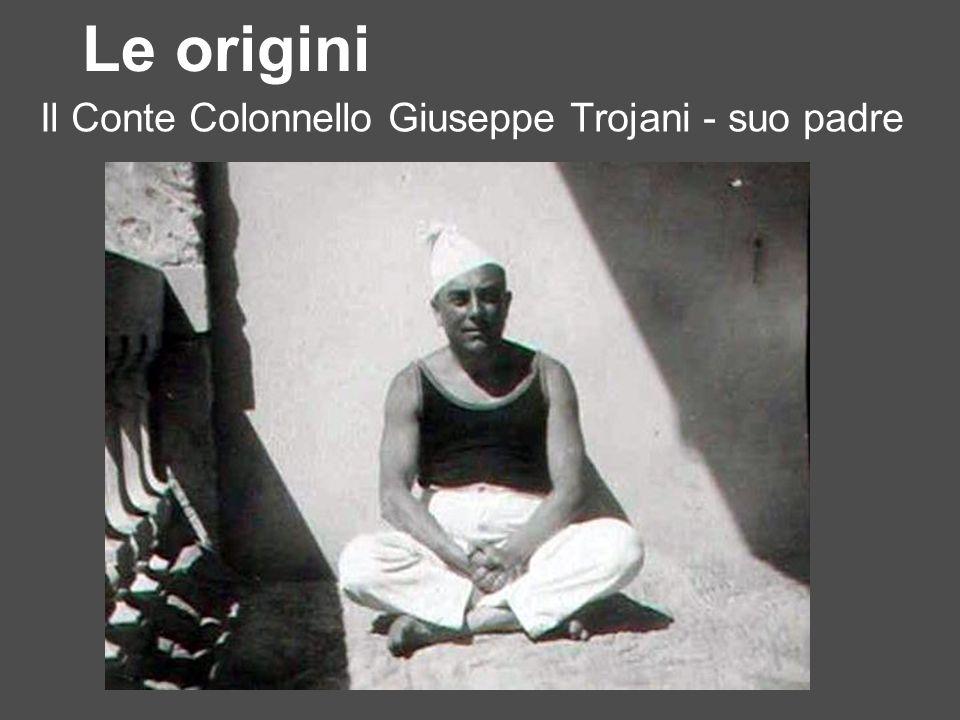 La contessa Lina Trojani - sua madre Le origini