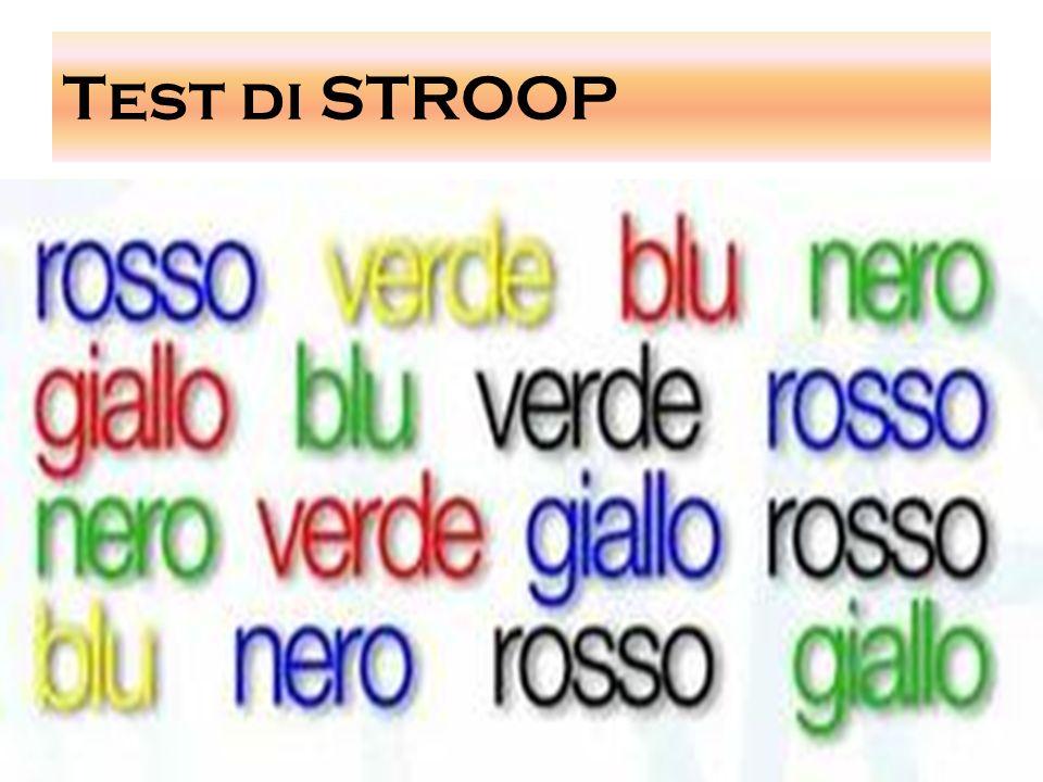 Test di STROOP