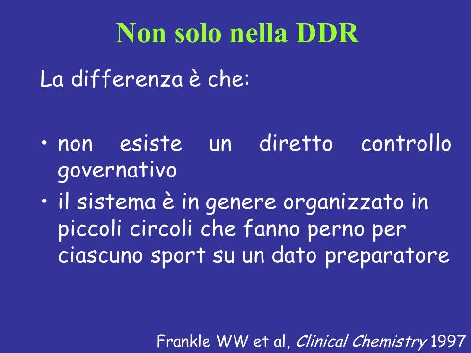 La differenza è che: non esiste un diretto controllo governativo il sistema è in genere organizzato in piccoli circoli che fanno perno per ciascuno sp