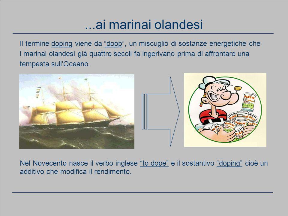 Il diario di un ciclista professionista Dalla Repubblica del 13/03/05 EPO Testosterone GH Fruttosio Insulina Vitamina B12 Aminoacidi (15 g) Vitamine