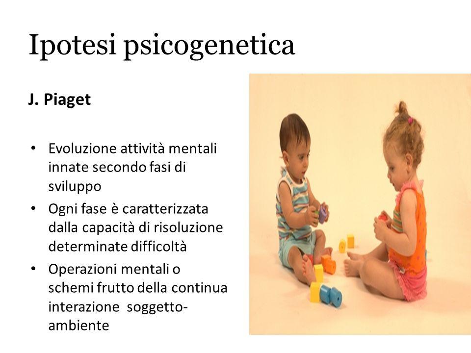 Ipotesi psicogenetica J.