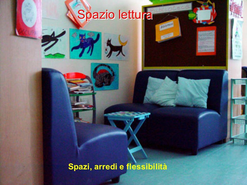 Spazio lettura Spazi, arredi e flessibilità