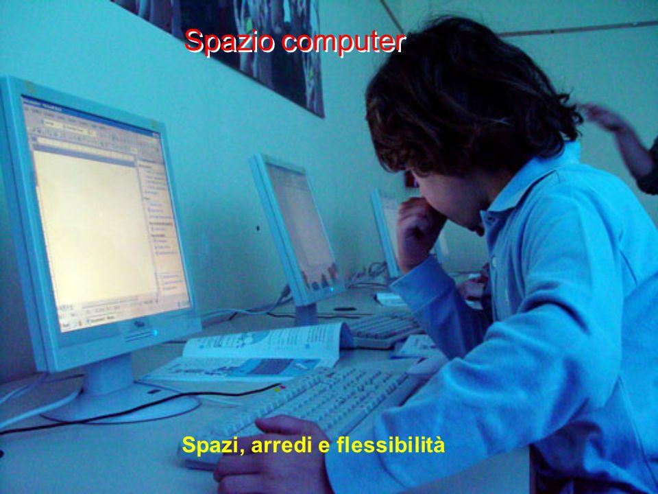 Spazio computer Spazi, arredi e flessibilità