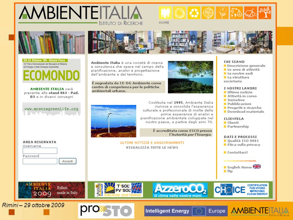 Rimini – 29 ottobre 2009
