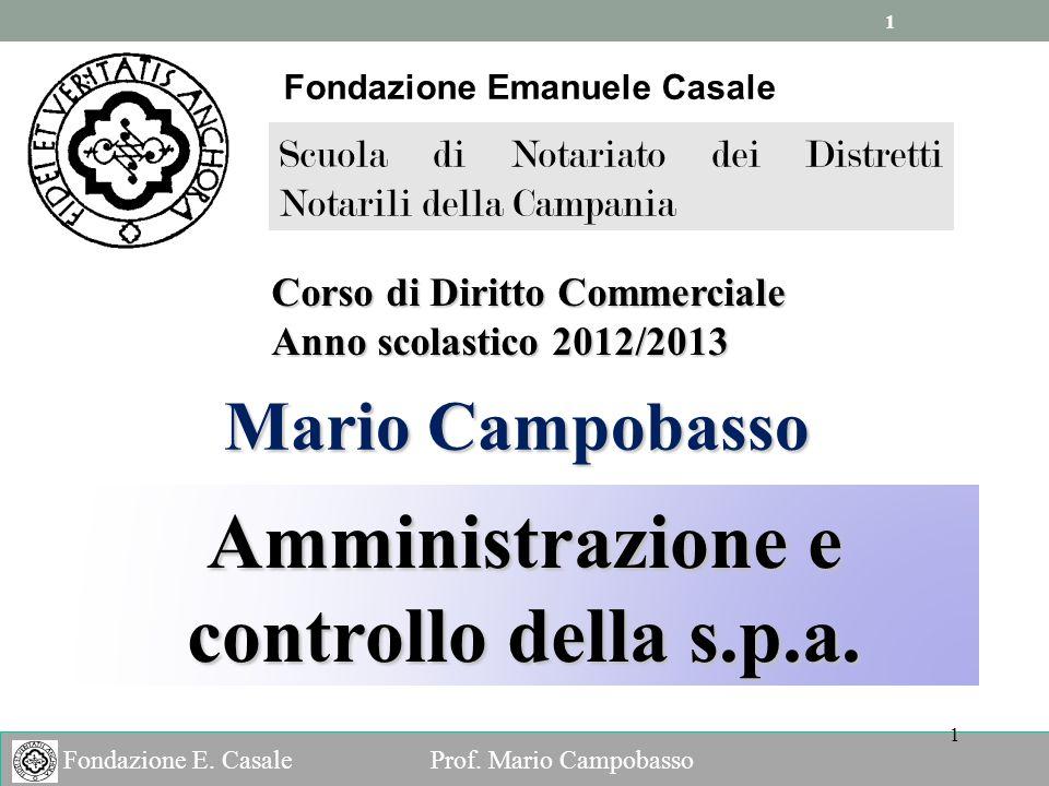 1 1 Fondazione E.Casale Prof.
