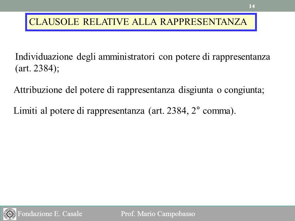 14 Fondazione E.Casale Prof.