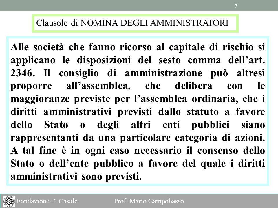 7 7 Fondazione E.Casale Prof.