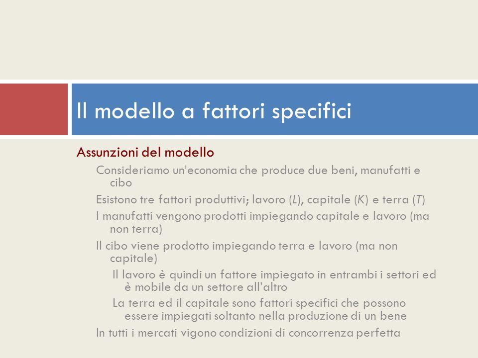 Il modello a fattori specifici Copyright © Ulrico Hoepli Editore S.p.A.