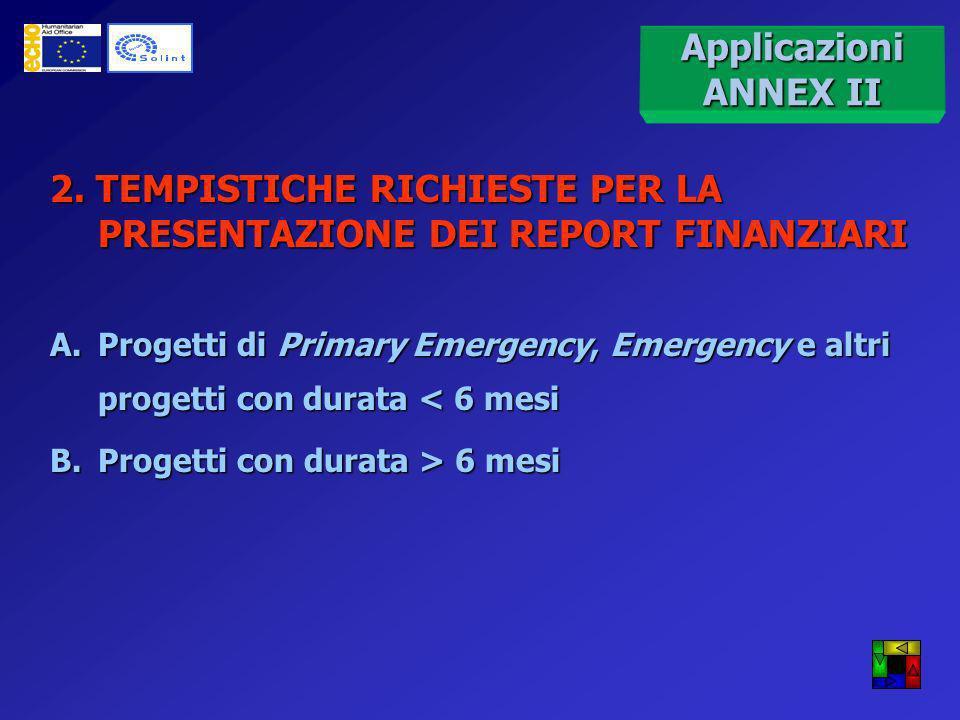 Scambio di corrispondenza con approvazione da parte di ECHO Modifica unilaterale del budget ESEMPIO Flessibilità del budget e amendment