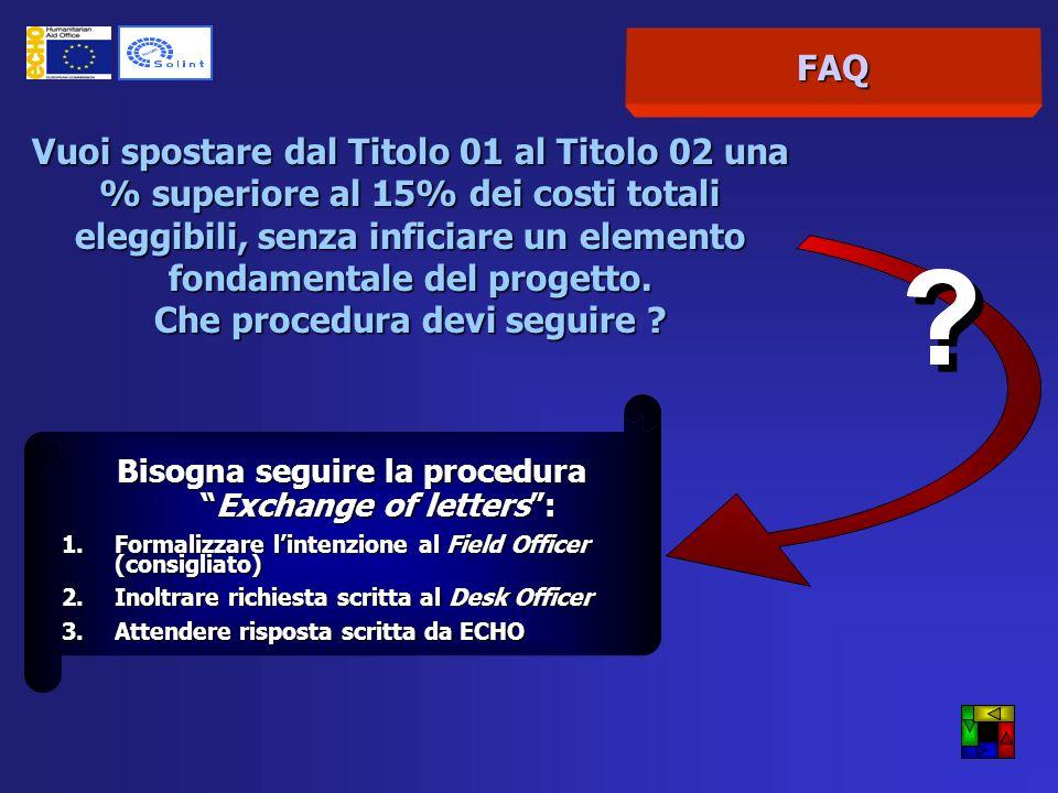 FAQ Presentando una proposta di progetto ad ECHO devo compilare sia il Budget Breakdown che il Budget Summary .