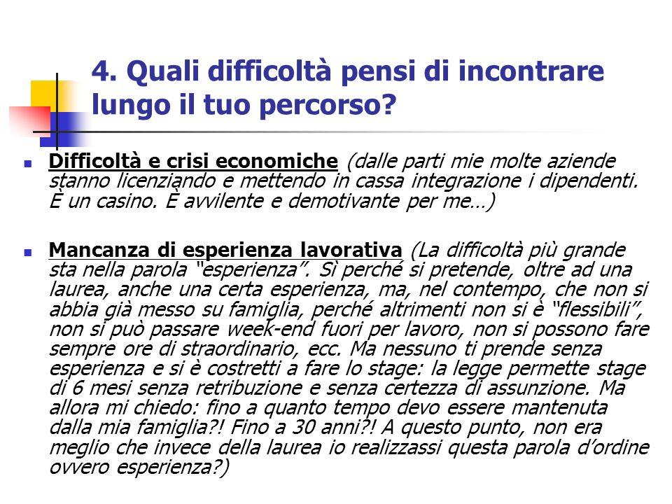 Difficoltà e crisi economiche (dalle parti mie molte aziende stanno licenziando e mettendo in cassa integrazione i dipendenti.