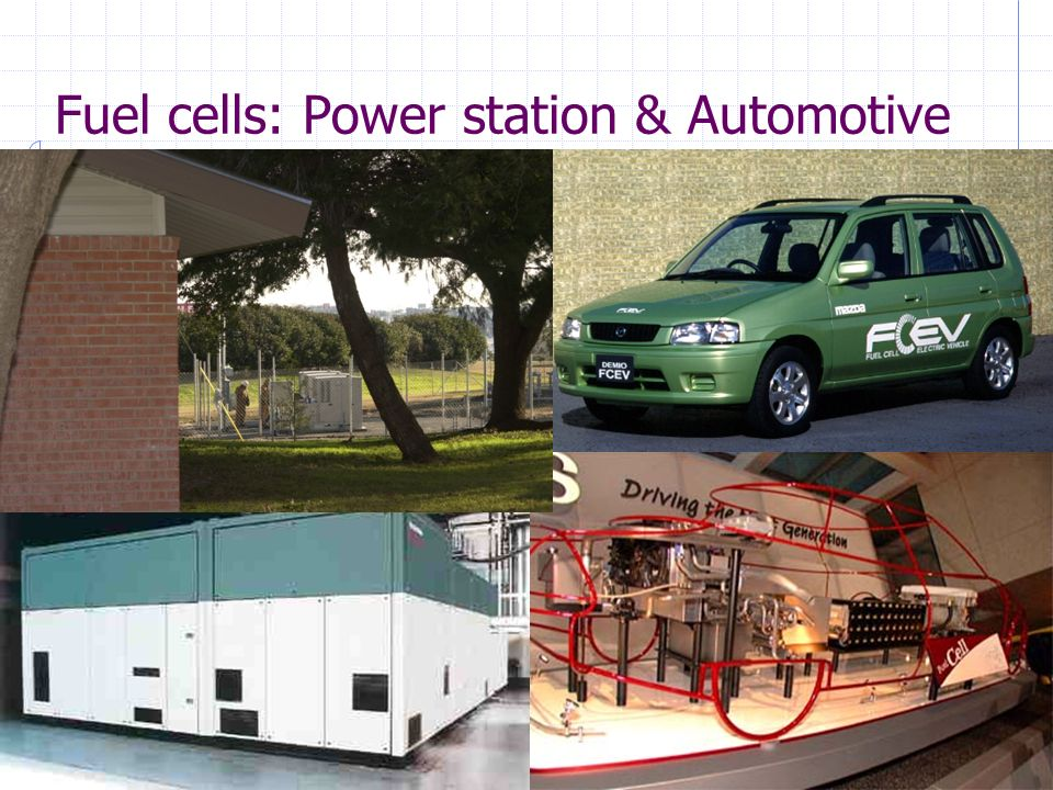 Reattori Chimici e Biochimici – Maurizio FermegliaTrieste, 27 January, 2014 - slide 23 Fuel cells: Power station & Automotive