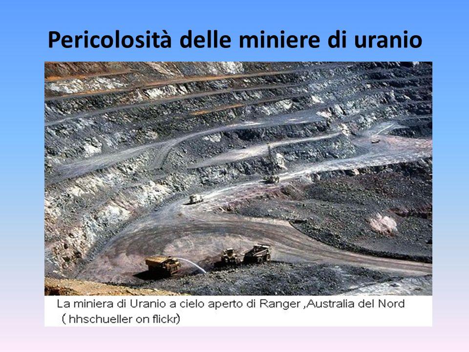 Pericolosità delle miniere di carbonio
