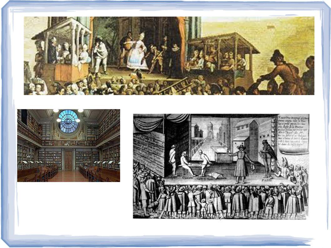 2 – Il pubblico paganti Non raffinati ed educati ascoltatori, ma di artigiani, borghesi, contadini paganti.